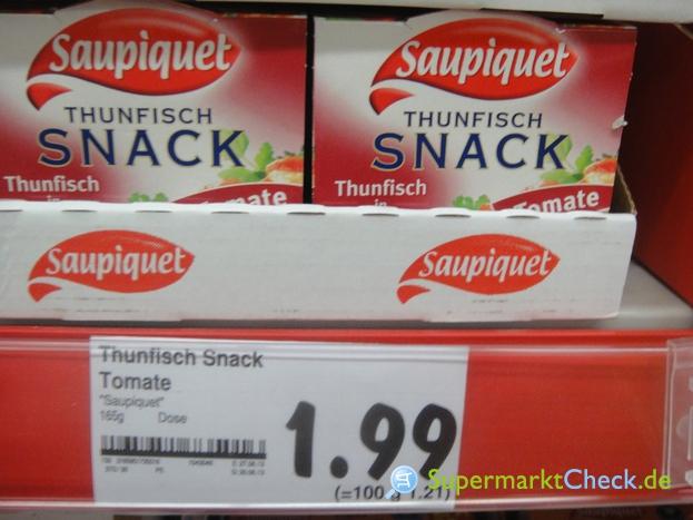 Foto von Saupiquet Thunfisch Snack