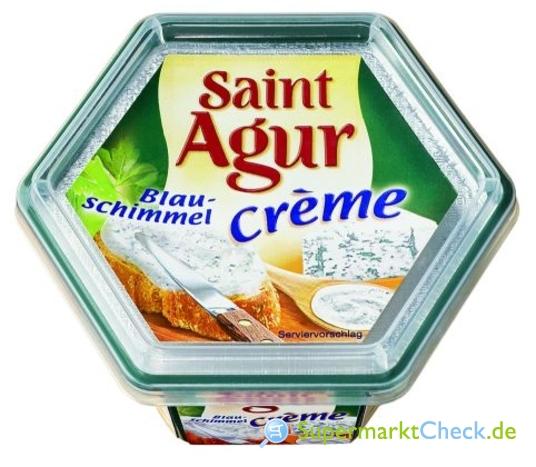 Foto von Saint Agur Creme mit Blauschimmel