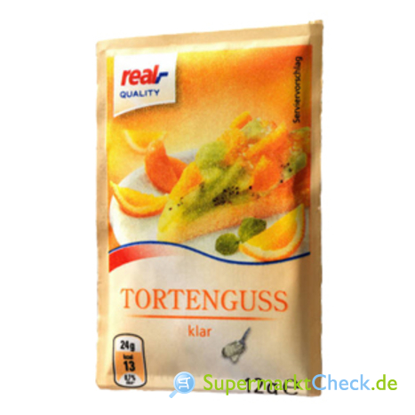 Foto von real Quality Tortenguss 3-er