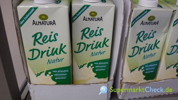 Foto von Alnatura Reis Drink