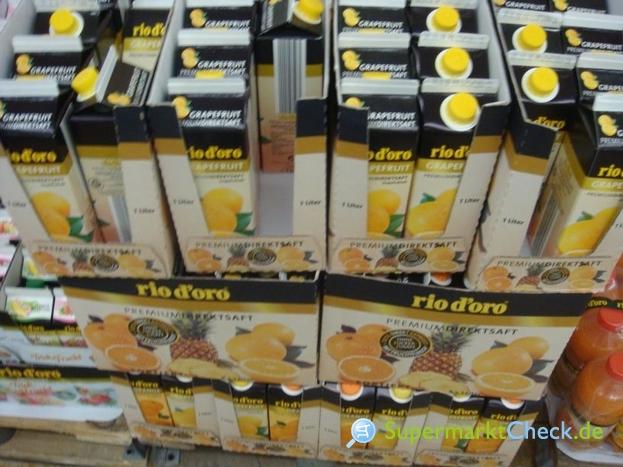 Foto von rio d oro Premium Direktsaft