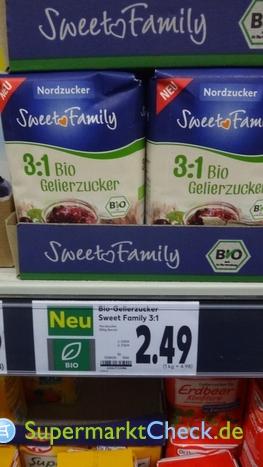 Foto von Sweet Family Bio Gelierzucker