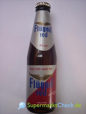 Foto von Flügerl red Energy Drink