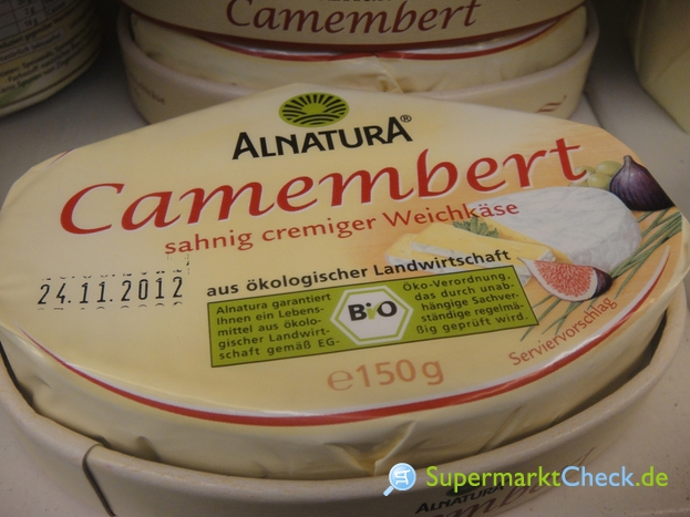 Foto von Alnatura Camembert