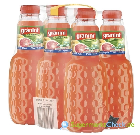 Foto von Granini Trinkgenuss Pink Grapefruit