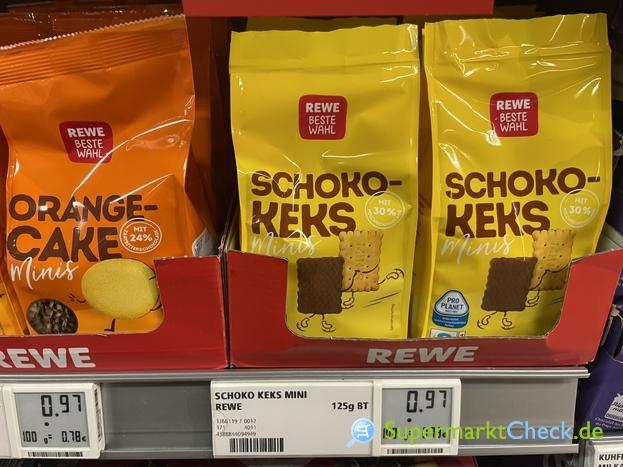 Foto von REWE Beste Wahl Schoko Keks Minis