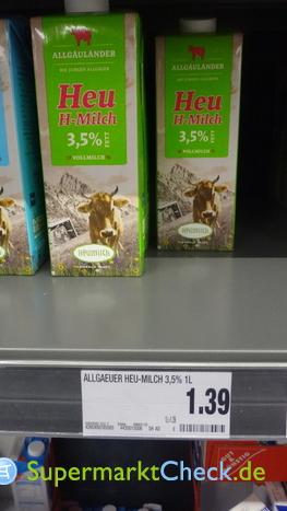 Foto von Allgäuländer Heu H-Milch