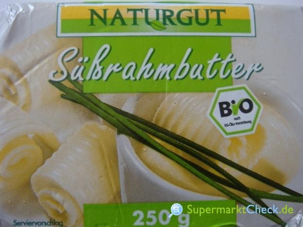Foto von Naturgut Bio Süßrahmbutter