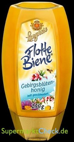 Foto von Langnese Flotte Biene Gebirgsblüten Honig