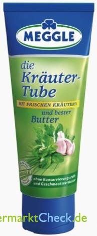 Foto von Meggle Kräuter-Tube Butter