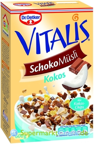 Foto von Dr. Oetker Vitalis Schoko Müsli