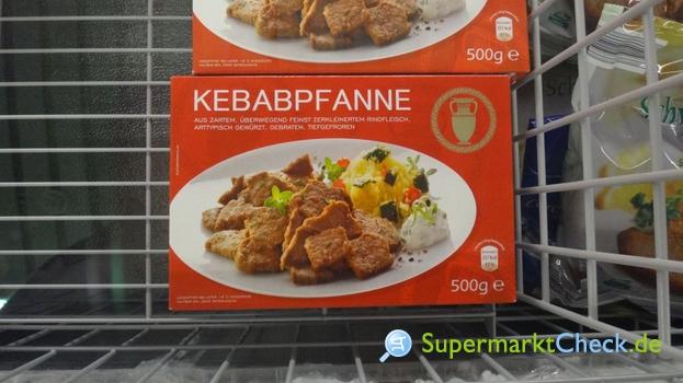 Foto von Aldi Nord Kebab Pfanne