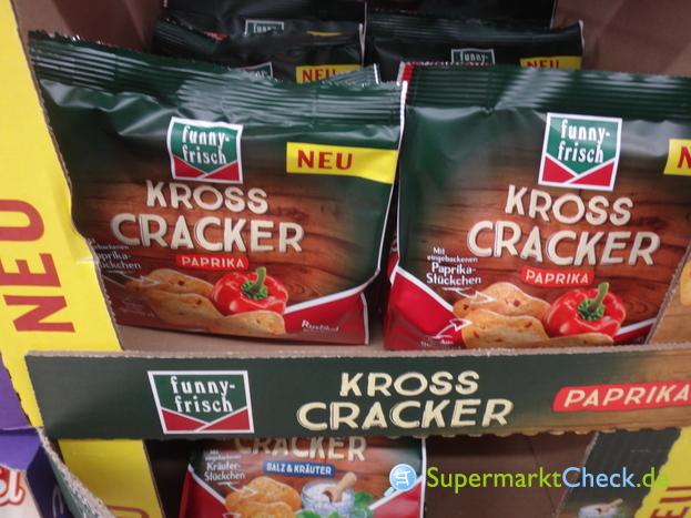 Foto von Funny Frisch Kross Cracker