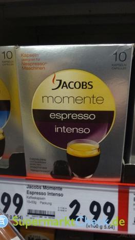 Foto von Jacobs momente Espresso intenso