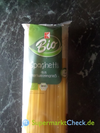 Foto von K Bio Spaghetti