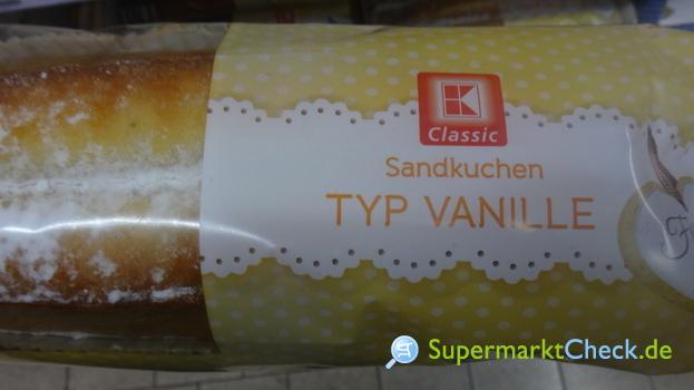 Foto von K Classic Sandkuchen
