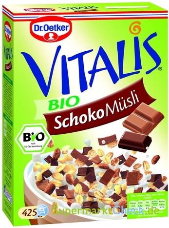 Foto von Dr. Oetker Vitalis Bio Schoko Müsli