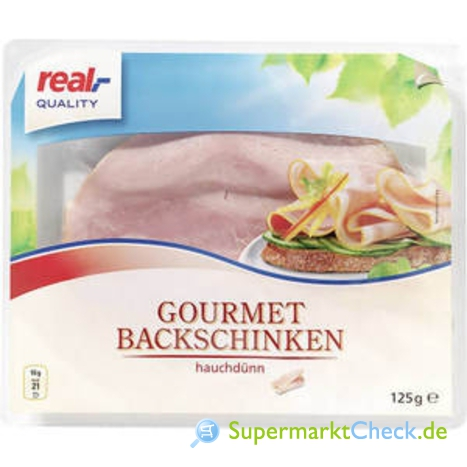 Foto von real Quality Gourmet Backschinken