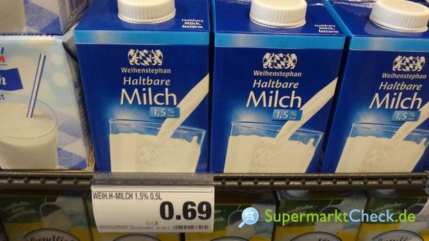 Foto von Weihenstephan Haltbare Milch