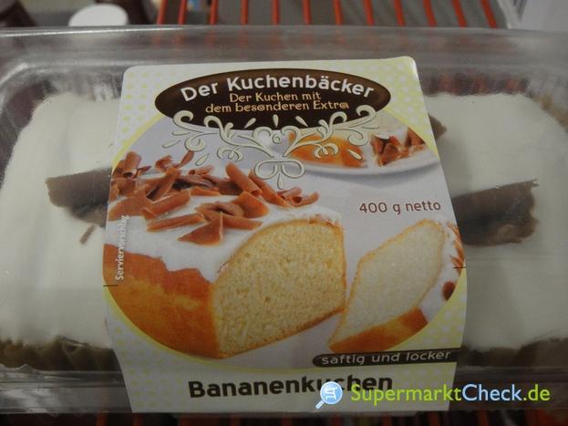 Foto von Feine Kuchen Bananenkuchen
