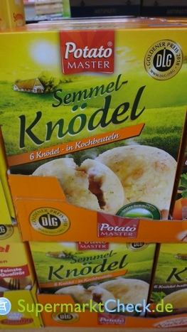 Foto von Potato Master Semmel Knödel