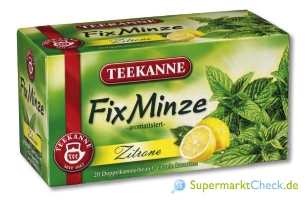 Foto von Teekanne FixMinze