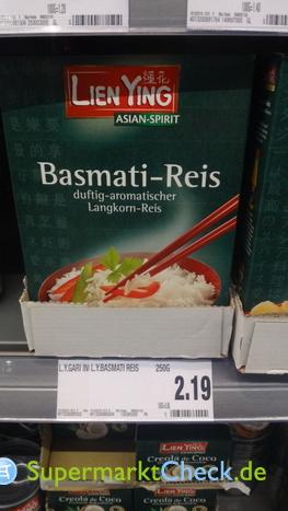 Foto von Lien Ying Basmati Reis