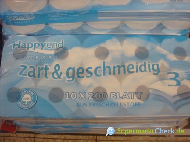 Foto von Happy End Premium-Tissue-Toilettenpapier