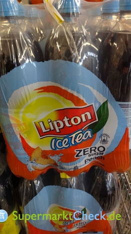 Foto von Lipton Ice Tea Zero Sugar