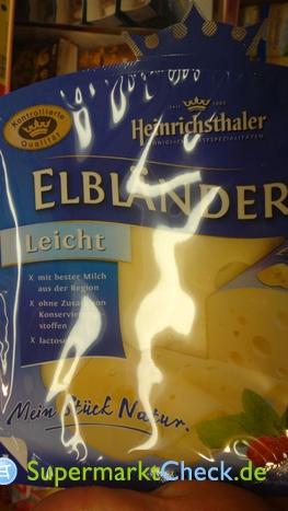Foto von Heinrichsthaler Käse Elbländer Leicht