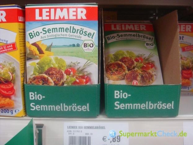 Foto von Leimer BIO Semmelbrösel