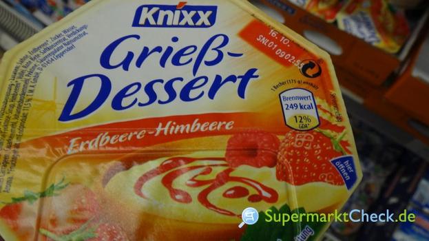 Foto von Knixx Grieß Dessert mit Frucht