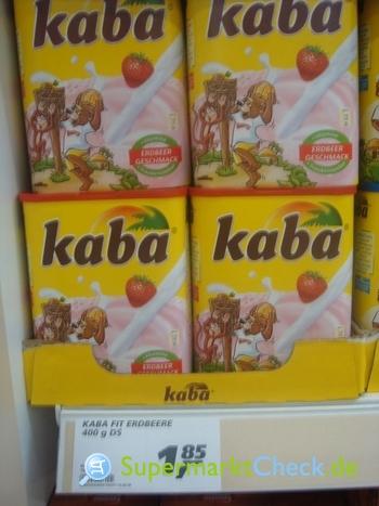Foto von kaba Erdbeer Geschmack
