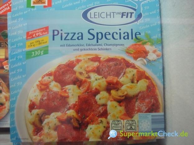 Foto von Leicht und Fit Steinofen Pizza