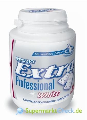Foto von Wrigley Extra Professional White  Dose