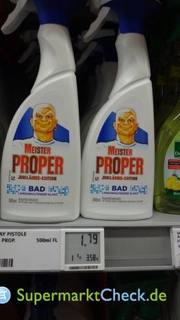 Foto von Meister Proper Magic Protect Badspray