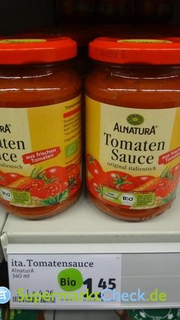 Foto von Alnatura Tomaten Sauce