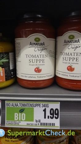 Foto von Alnatura Origin Tomaten Suppe
