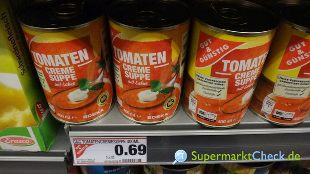 Foto von Gut & Günstig Tomaten Creme Suppe