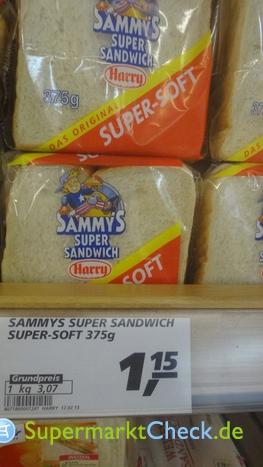 Foto von Harry-Brot Sammys Super Sandwich