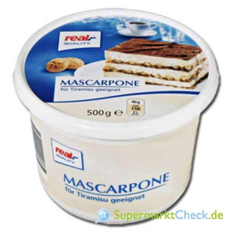 Foto von real Quality Mascarpone
