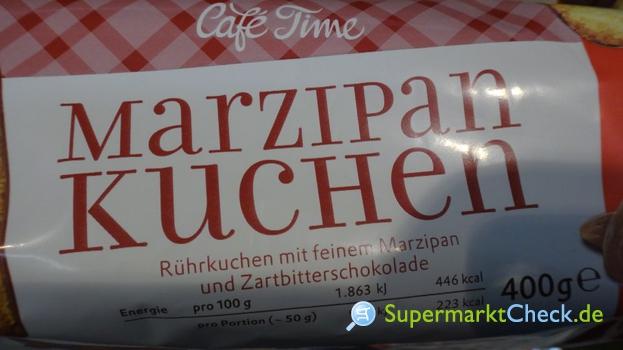 Foto von Cafe Time Marzipan Kuchen
