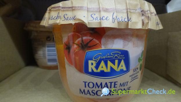 Foto von Giovanni Rana Sauce Tomate mit Mascarpone