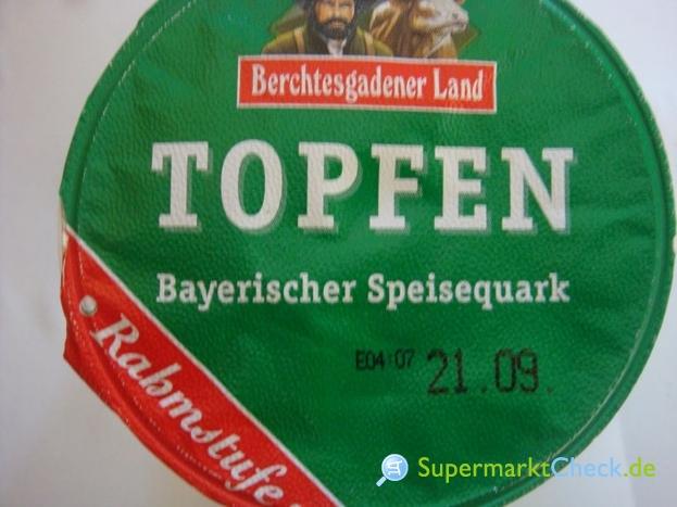 Foto von Berchtesgadener Land Topfen- Bayerischer Speisequark