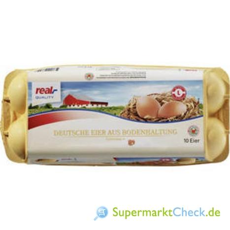 Foto von Real Quality Eier aus Bodenhaltung
