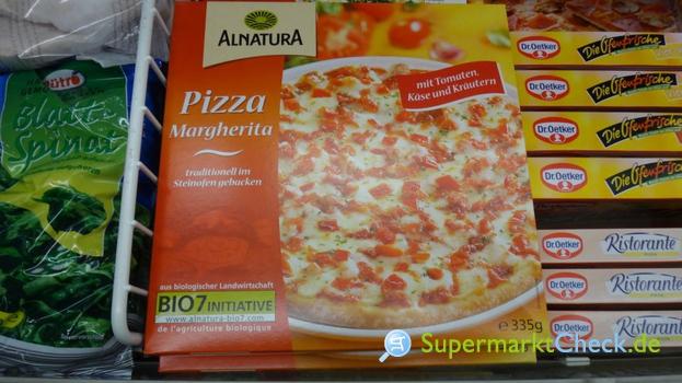 Foto von Alnatura Pizza