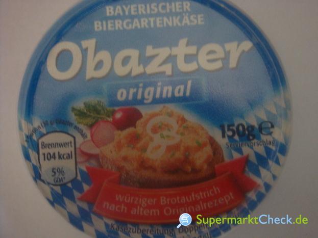 Foto von Obazter Bayerischer Biergartenkäse
