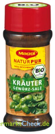Foto von Maggi Natur Pur Bio Kräuter Gewürz-Salz
