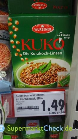 Foto von Wurzener Kuko Die Kurzkoch Linsen