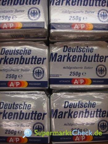 Foto von A&P Deutsche Markenbutter